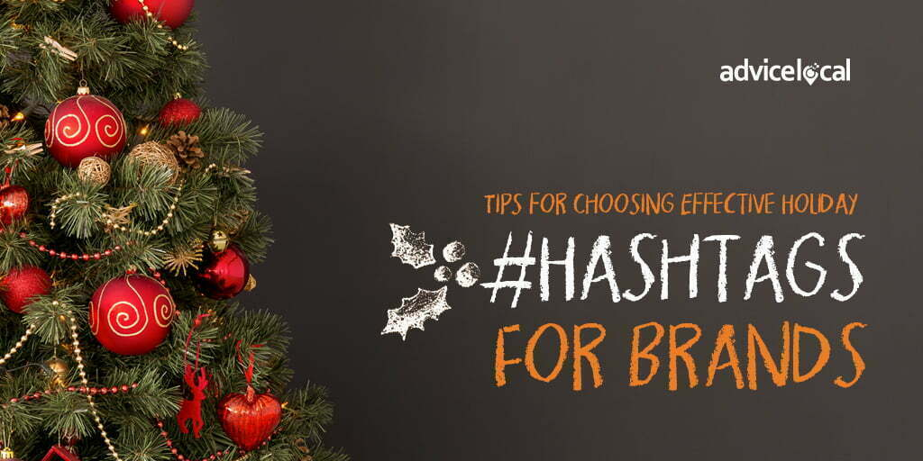 Branded Holiday Hashtag Campaign