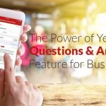 Yelp Questions and Answers Feature