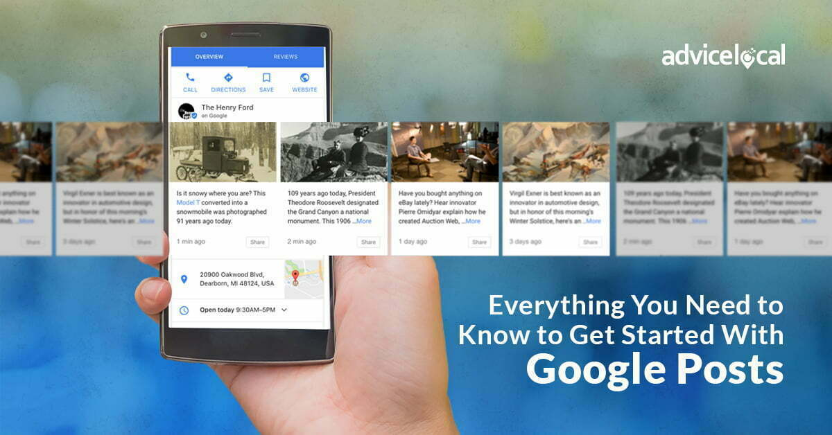 Everything You Need to Know to Get Started With Google Posts