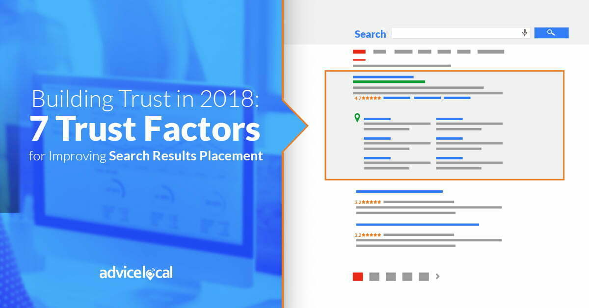 7 Trust Factors for Improving Search Results Placement