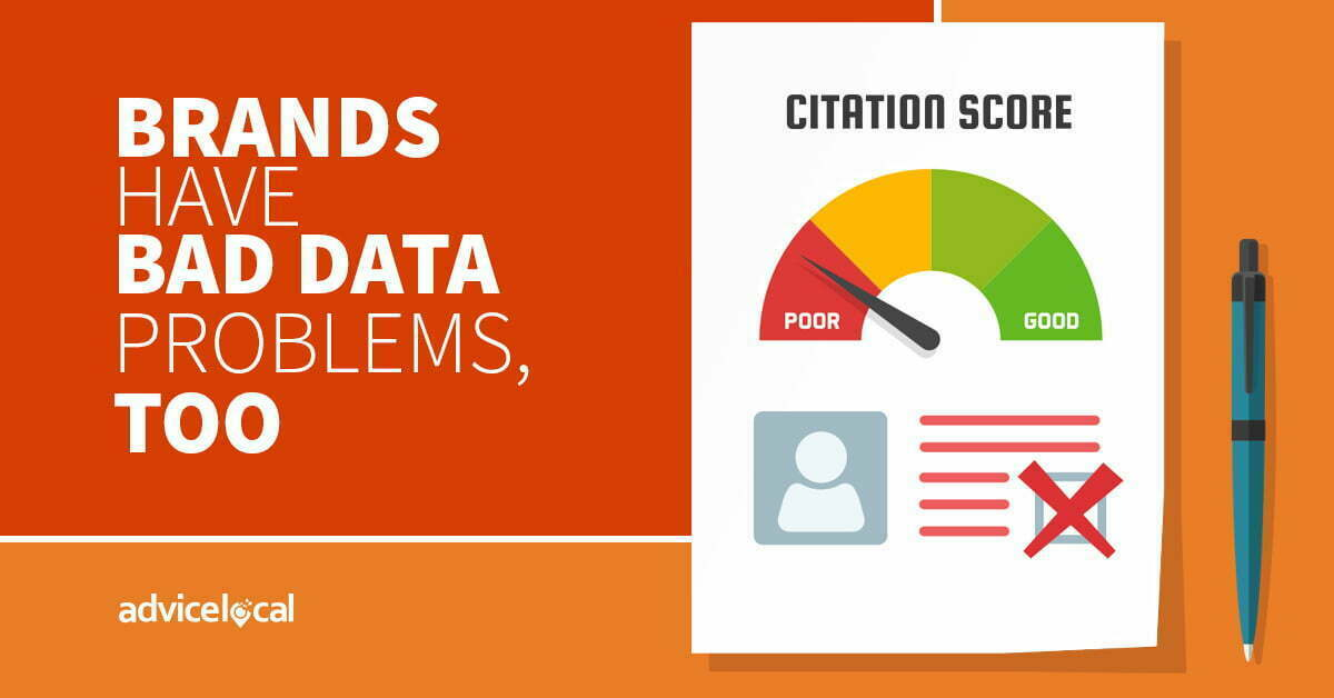 Common Citation Complications – Brands Have Bad Data Problems, Too