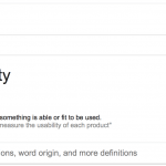 Usability Definition