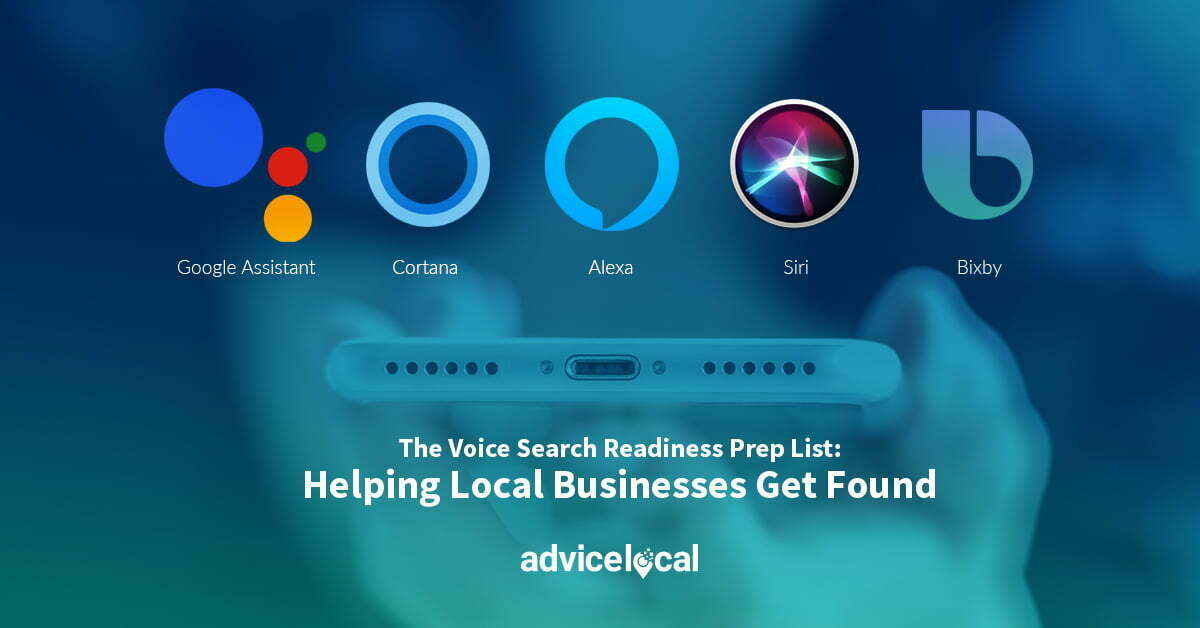 The Voice Search Readiness Prep List: Helping Local Businesses Get Found