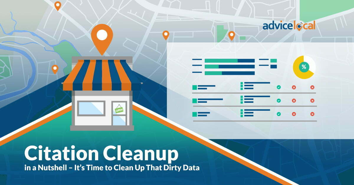 Citation Cleanup in a Nutshell – It's Time to Clean Up That Dirty Data