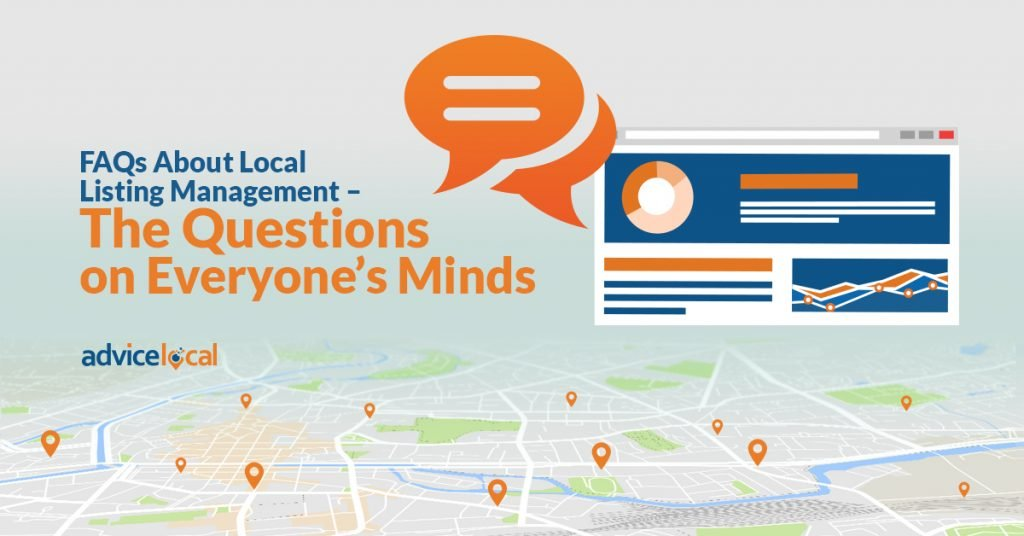 FAQs About Local Listing Management