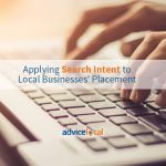 Applying Search Intent to Local Businesses' Placement