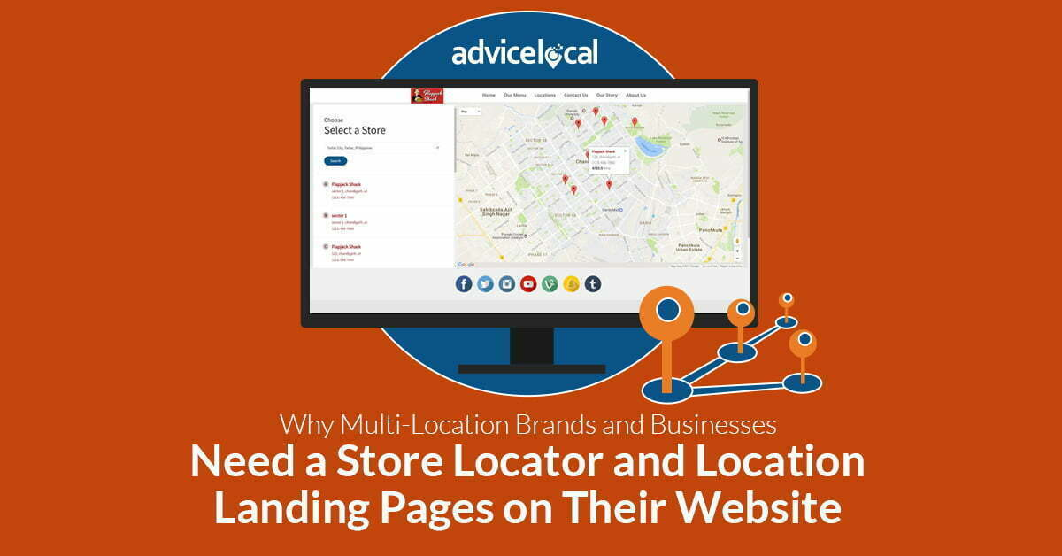 Multi-Location Brands Store Locator