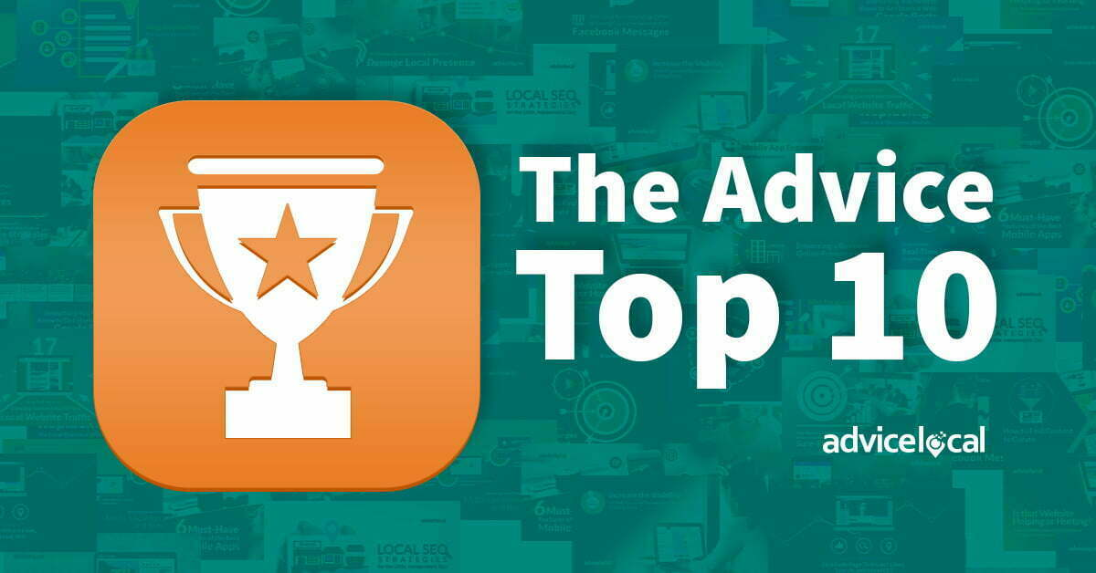 The Advice Top 10 of 2017